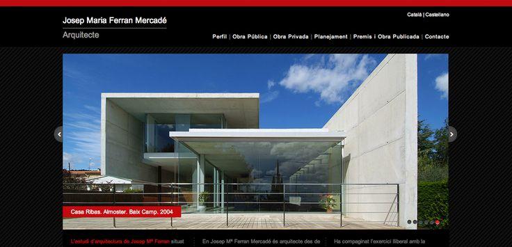 Página web Josep Maria Ferran Mercadé | Arquitecto