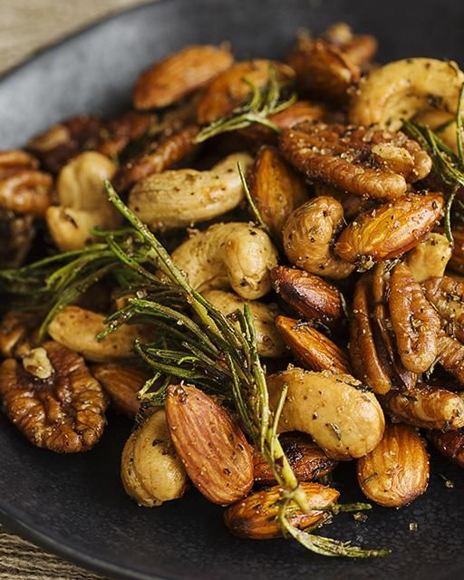 Spicy Fried Mixed Nuts, Christmas