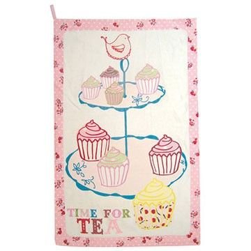 Amazing a beautifully quirky cake stand tea towel with illustrations of cakes cake stand u