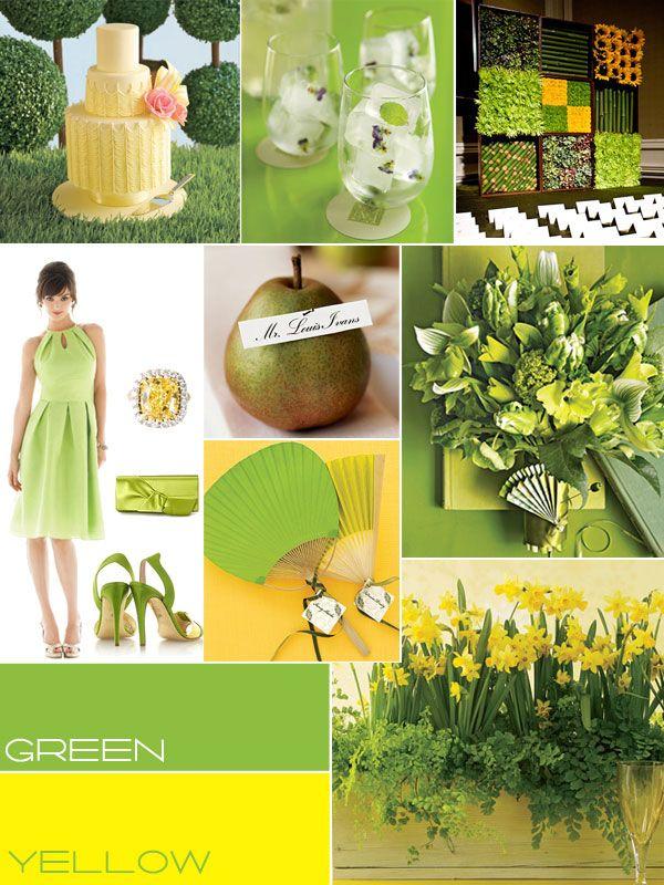 зеленый, желтый, зеленые оттенки, свадебное оформление, свадебный декор, желтый свадебный торт; green, yellow, green shades, wedding decoration, yellow wedding cake;