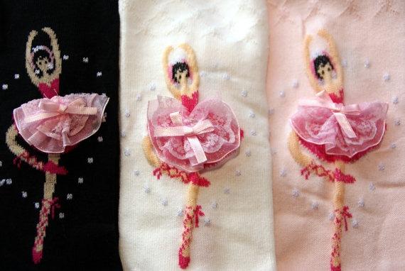 Schwarze Tapete Gl?nzend : Strumpfhosen f?r kleine Ballerinas Leggings mit von www.Schnuffelinis