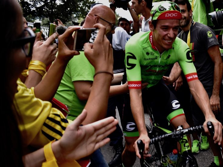 """Inside the Tour de France: An American team with a 'Moneyball' strategy just won the biggest Tour de France stage with its only million-dollar rider - CHAMBÉRY, France — If you don't have a lot, make do with what you've you got.  That's how the American pro cycling team Cannondale-Drapac has been operating for years on its shoestring budget.  Its manager, Jonathan Vaughters , has had to lead his top-level team with what he's referred to as a """"Moneyball"""" strategy, in reference to the baseball…"""