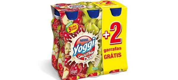 A combinação perfeita de 2 frutas numa textura suave e cremosa. Disponível nas variedades Morango Framboesa, Pêssego Manga e Maçã Pera, Yoggi Smoothie Duo, garante-te toda a energia vinda directamente da fruta.