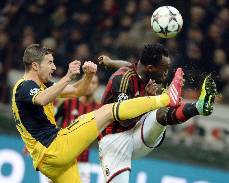 Gabi lucha cada balón como si fuera el último. Gran partido del capitán. Le falto el gol de falta que rondó al final del partido #Atleti