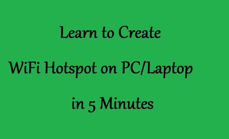 How to Create WiFi Hotspot on PC/Laptop Windows 8.1/8/7 #WiFi #WifiHotspot #Hotspot