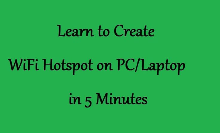 How to Create WiFi Hotspot on PC/Laptop Windows 8.1/8/7 #WiFi #WifiHotspot #Hotspot