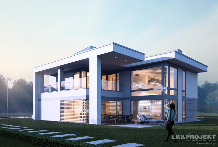 Projekty domów LK Projekt LK&1220 zdjęcie 8