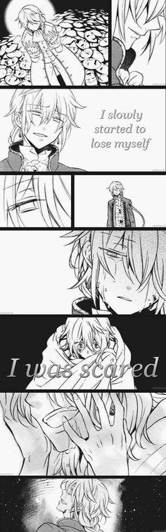 """I slowly started to lose myself I was scared"" / Jack Vessalius (so sad)"
