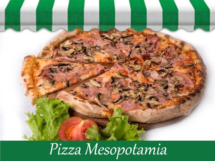 Pentru astazi iti recomandam Pizza Mesopotamia! Pofta buna! www.mesopotamia.ro/meniu/pizza