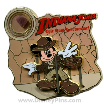 Mickiana Jones trading pin. It has a small piece of the attrition its epic!