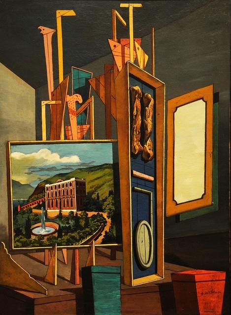 Giorgio de Chirico - Great Metaphysical Interior, 1917