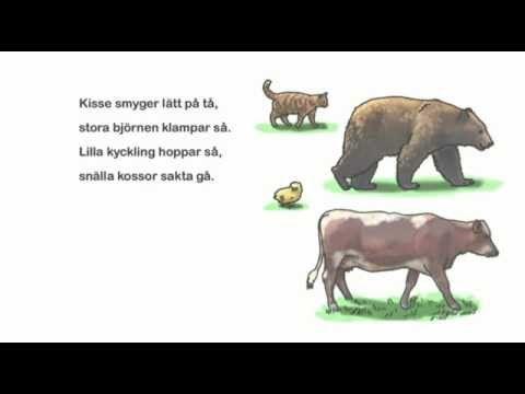 14. Djuren promenerar - ur Stora Rim&Ramsor