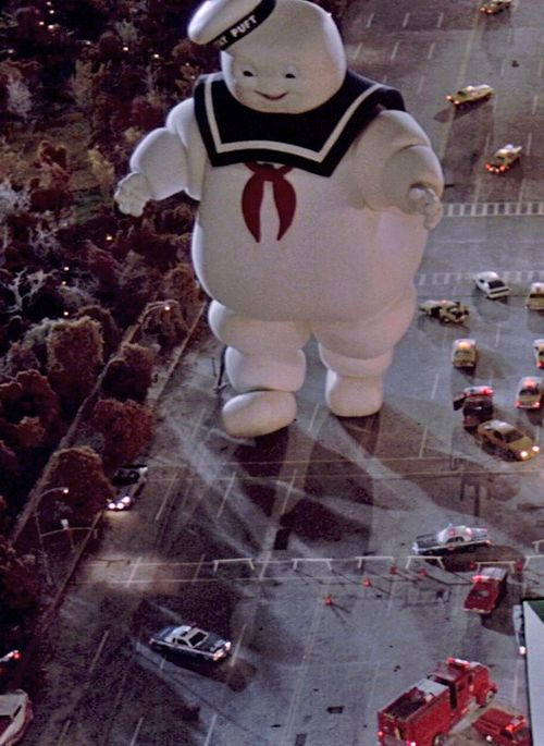 Ghostbusters : Stay Puft Marshmallow Man... Thinking I ...