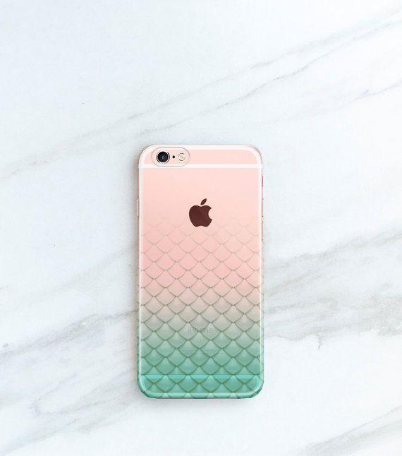 Mermaid iPhone Case Scales iPhone 6s 6 Plus by JoyMerrymanStore
