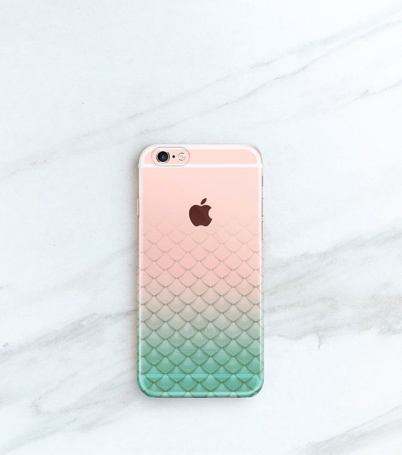 Mermaid iPhone Case Scales iPhone 6s 6 Plus by JoyMerrymanStore