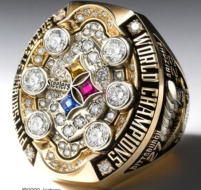 Pittsburgh Steelers - Super Bowl XLIII, 2009 - Super Bowl Rings ...