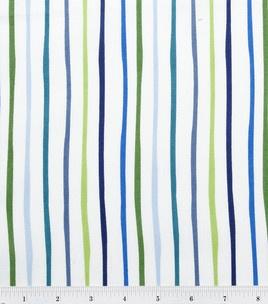 Nursery Fabric-Baby Zoo Stripe: Nurseries Fabrics Baby, Baby Baby, Fabrics Baby Zoos, Baby Boys, Baby Rooms
