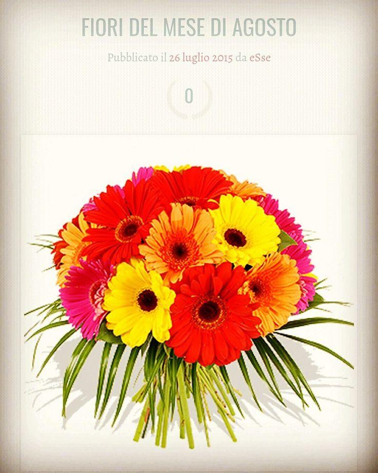 #Spose di #agosto ecco i #fiori per voi adatti  a queste  calde #temperature! 🌷🌸🌹🌺🌻🌼 #wedding #essedisposa #martinasaliva #weddingblog #stagioni #flower https://essedisposa.com/2015/07/26/fiori-del-mese-di-agosto/