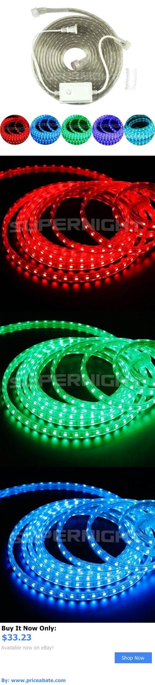 Mejores 137 imgenes de rgb leds and controls en pinterest lamps and lighting waterproof 5m 5050 smd ac110v rgb led strip light flat rope light aloadofball Image collections
