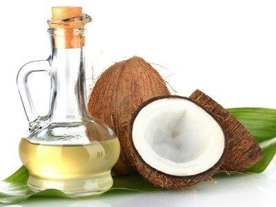 coconut oil helps massage your nails and skin. It is smooth and moisturizing.