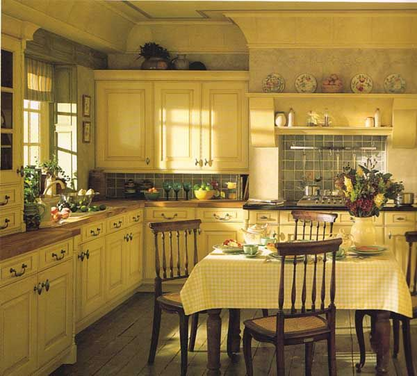 Traditional Country Kitchens Kitchen Violet Designs