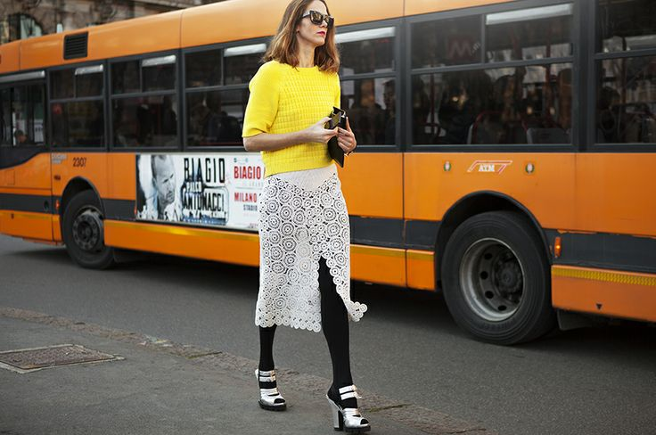#Streetstyle: #colour and #contrast with ... educated choices Disocover more here!
