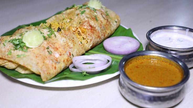Biryani Rolled in an Egg Omelette | Best Veg Thali | Amazing Indian Food