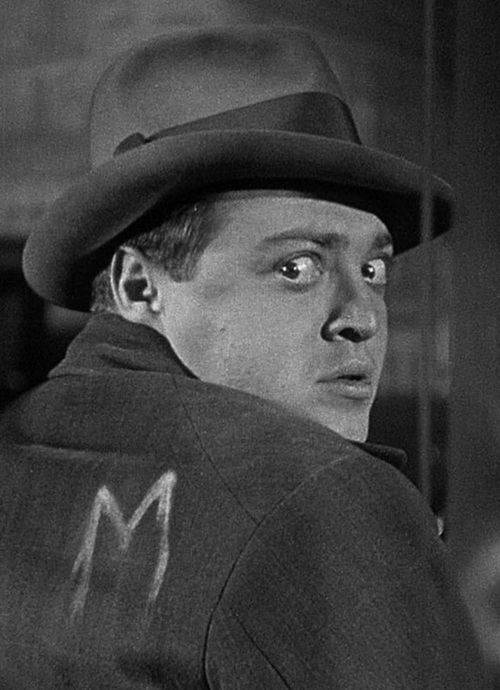 Peter Lorre in M by Fritz Lang (1931)