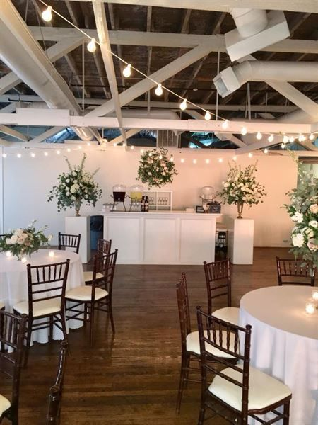 Beautiful Indoor Reception Space At The Bridgestreet Gallery And