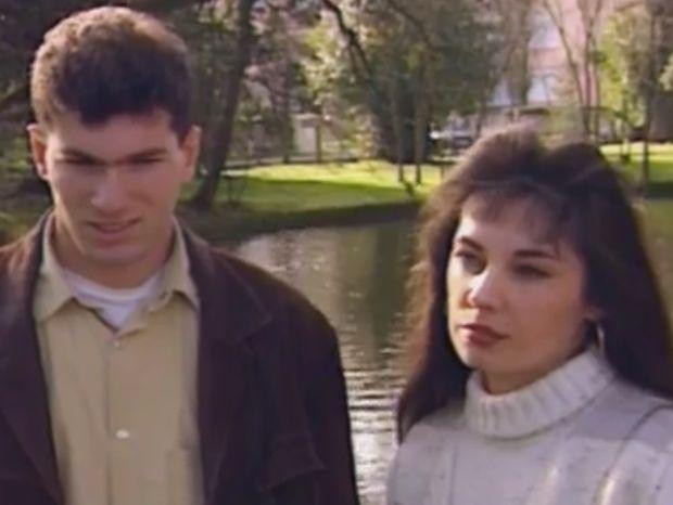 Envoyé Spécial : des images de Zinedine Zidane et de sa femme Véronique jeunes [Photos]