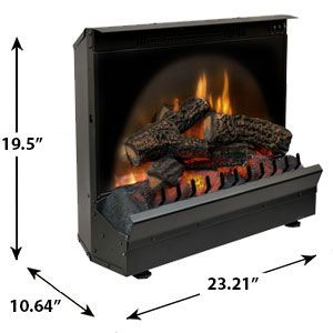 Best  Dimplex Electric Fireplace Insert Ideas On Pinterest - Electric logs for fireplace