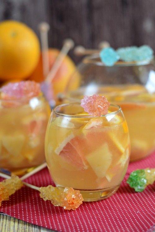 Ananászos citruskoktél recept