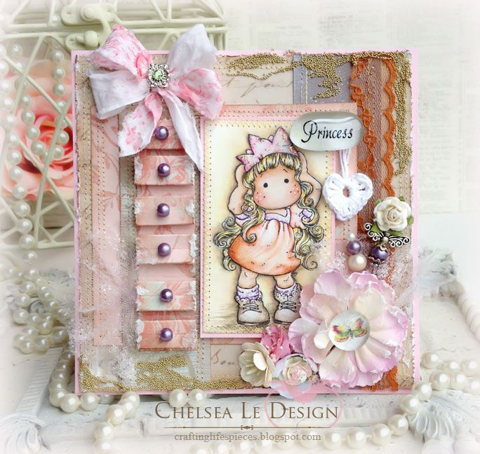 Magnolia Card-Princess Party Tilda