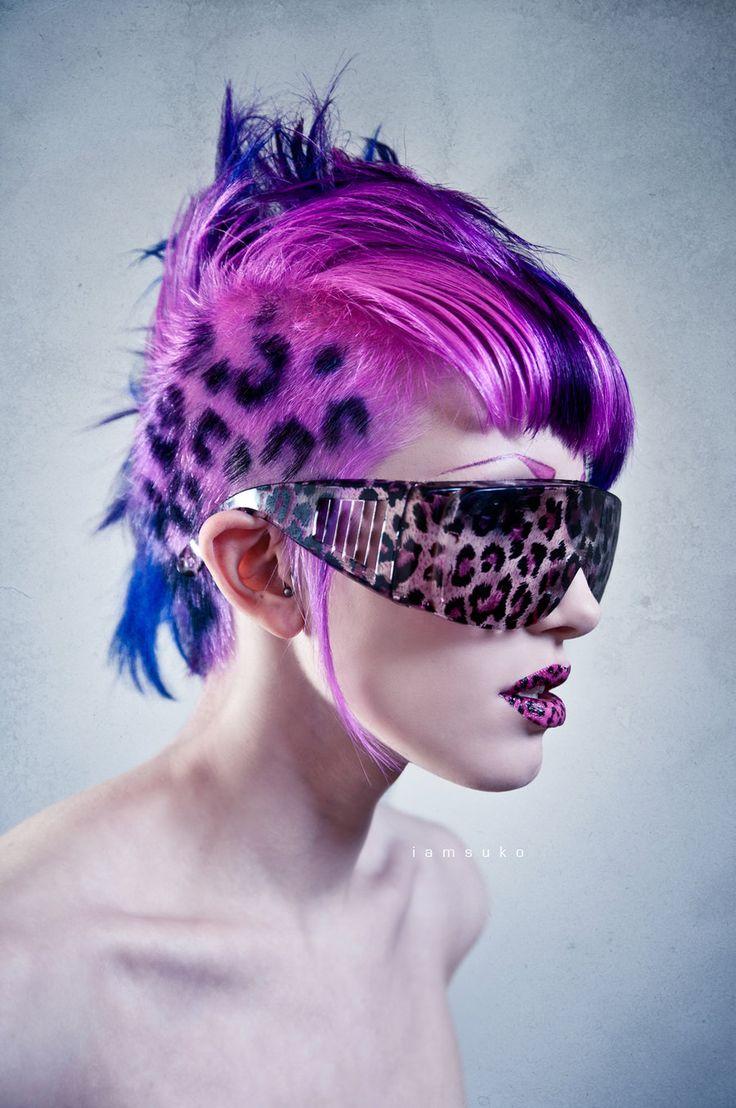 leopard print hair ideas