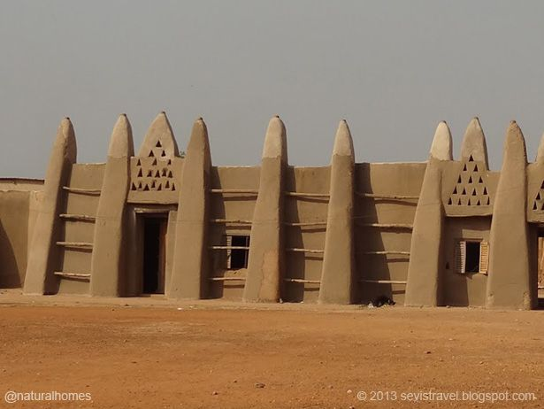 This Is Naa S Palace In Wa Ghana Because Of Continued