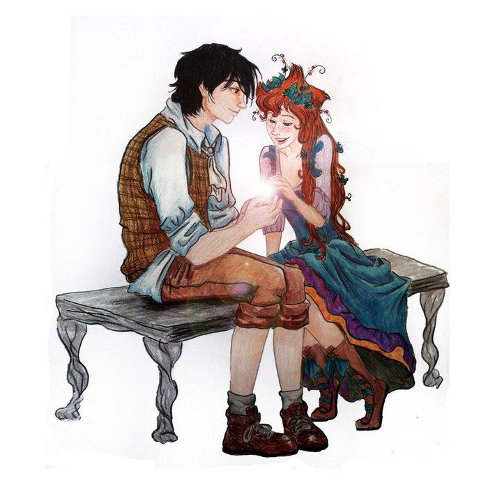 Her hair, the dress, the boots, the guy... She has everything! Fairy Oak