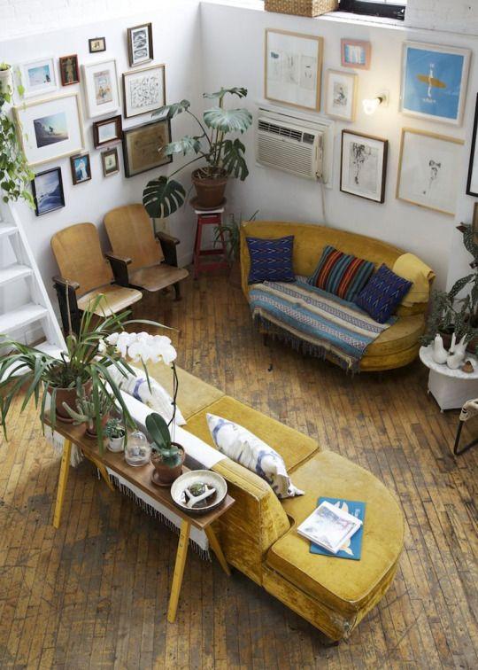 1000+ ideeën over Gele Bank op Pinterest - Kleurrijk appartement ...