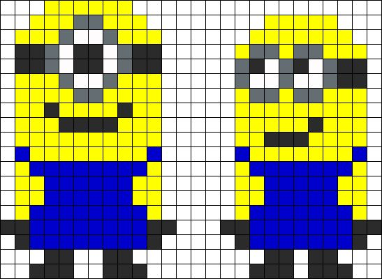 OMG! where has this been?!?!?! This is a website that gives out patterns for perler beads. You know? those little beads that u melt and they stick together to form a shape?