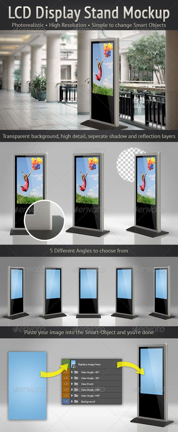 Pin by Bashooka Web & Graphic Design on Awesome PSD Mockup ...