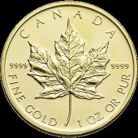 A Coin that is Emblematic of Royalty and Cultural Heritage - The Canadian Maple leaf gold coin symbolizes royalty and the pride of Canada - Maple leaf. Glimpse of this coin with vivid portrayal of Canadian culture in fine gold on Merit Gold.