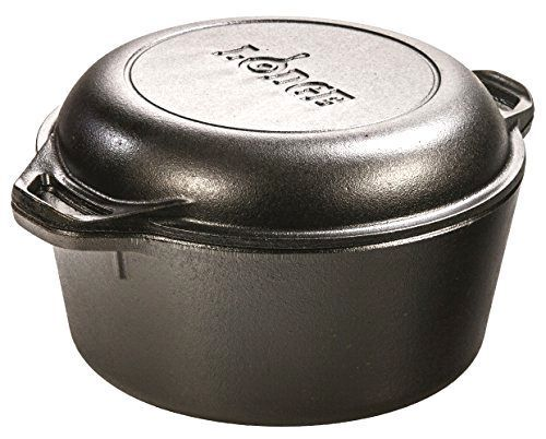Double Dutch Oven and Casserole with Skillet Cover Lodge L8DD3 , 5-Quart #Lodge