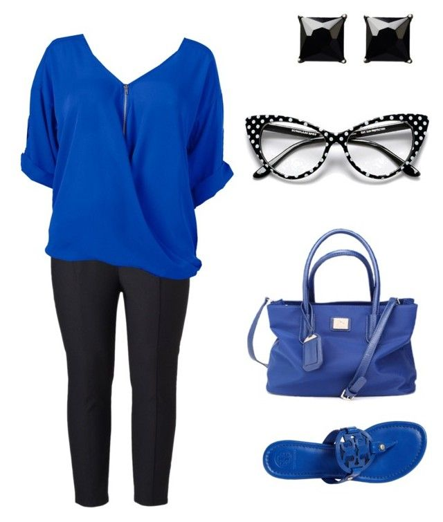 """Untitled #155"" by deborah-montano on Polyvore featuring Tory Burch, Witchery, Simply Vera and Venus"
