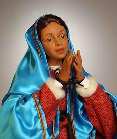 Куклы на религиозную тему - Святая Дева Мария Гваделупская