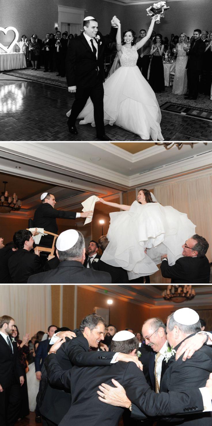 Jewish Wedding Dancing Hora