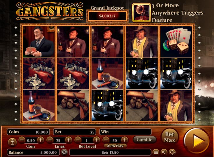 Gangsters - http://www.777free-slots.com/free-gangsters-slot-online/