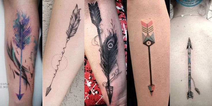 Share Tweet Pin Mail This playful bicep tat. (Photo: Rachel) These dotted arrow shafts. For those of you looking for a cool tiny arrow ...