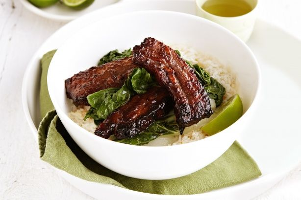 Give pork ribs an Asian makeover with this tasty sticky hoisin pork recipe.