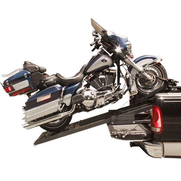 Rampage power lift motorcycle ramp system