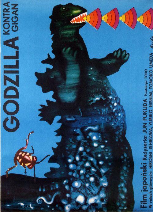 Godzilla kontra Gigan / Gojira tai Gaigan