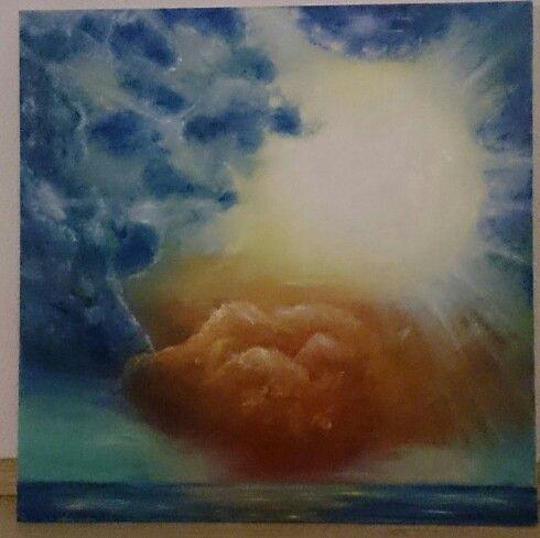 Solstorm over havet Av Kjersti S Øvereng